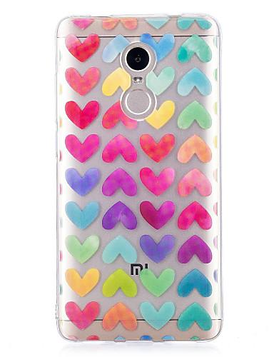 tok Για Xiaomi Xiaomi Redmi Note 4X IMD / Με σχέδια Πίσω Κάλυμμα Καρδιά Μαλακή TPU