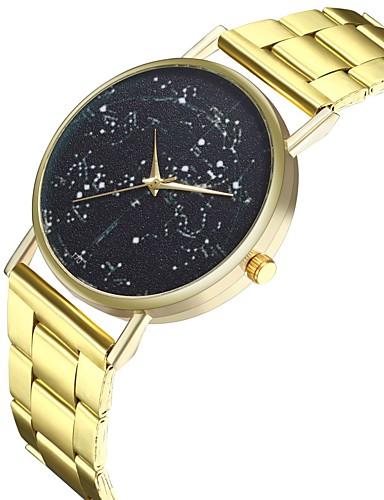 Γυναικεία Ανοξείδωτο Ατσάλι Χρυσό 30 m Φάση Σελήνης Απίθανο Πανκ Αναλογικό κυρίες Μοντέρνα - Χρυσό Ενας χρόνος Διάρκεια Ζωής Μπαταρίας / Μεγάλο καντράν / SSUO LR626