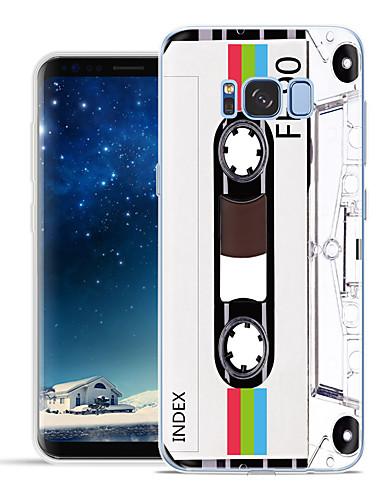 Etui Til Samsung Galaxy S8 Plus / S8 / S7 edge Mønster Bakdeksel Tegneserie Myk TPU