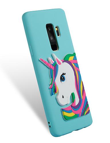 Etui Til Samsung Galaxy S9 / S9 Plus / S8 Plus Mønster / GDS Bakdeksel enhjørning Myk TPU