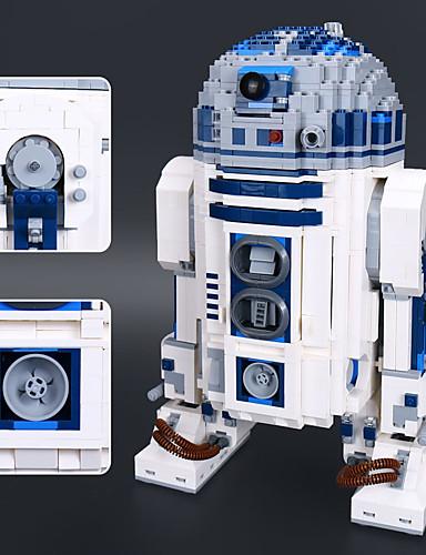 preiswerte Spielzeug & Hobby Artikel-R2-D2 Bausteine Bausatz Spielzeug Bildungsspielsachen 2127 pcs Klassisch Roboter kompatibel Legoing Stress und Angst Relief Fokus Spielzeug Jungen Mädchen Spielzeuge Geschenk