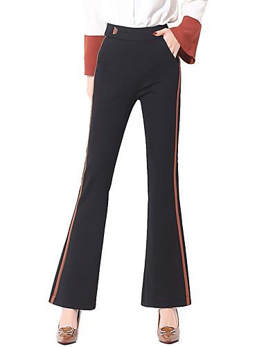 Plisado 2018 Harén 6594340 Mujer Color Pantalones Pantalones Acrílico Un  Algodón Lino Grandes Tallas x7qgTv 04f3d51a0745