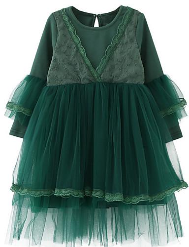 Dívka je Bavlna Denní Jednobarevné Léto Šaty d4bd1c133e