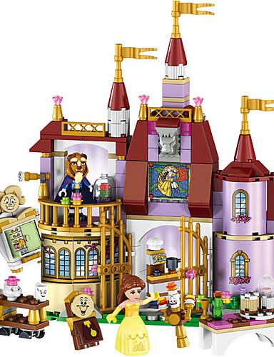 preiswerte Bausteine-LELE Bausteine Militärblöcke Bausatz Spielzeug 379 pcs Blumen Märchen Architektur kompatibel Legoing Stadtblick Landschaft Jungen Mädchen Spielzeuge Geschenk / Bildungsspielsachen