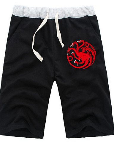 povoljno Maske i kostimi-Inspirirana Dragon Ball Zmaj Anime Cosplay nošnje Japanski Cosplay Tops / Bottoms Jednobojni / Anime ½ Pant Kratke hlače Za Sve