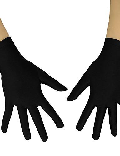 povoljno Anime cosplay-Gloves Inspirirana Others Anime Cosplay Pribor Rukavice Lycra® Uniseks Cosplay / Ples rukavice / Moda Halloween kostime