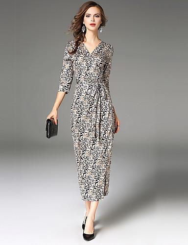 71f51616a2 Damskie Vintage Moda miejska Pochwa Sukienka - Cętki