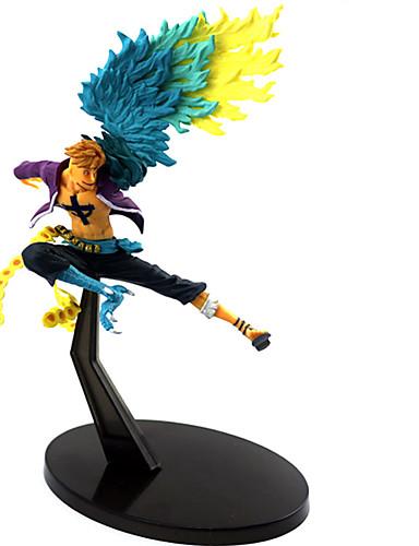 povoljno Anime cosplay-Anime Akcijske figure Inspirirana One Piece Marco PVC 17 cm CM Model Igračke Doll igračkama