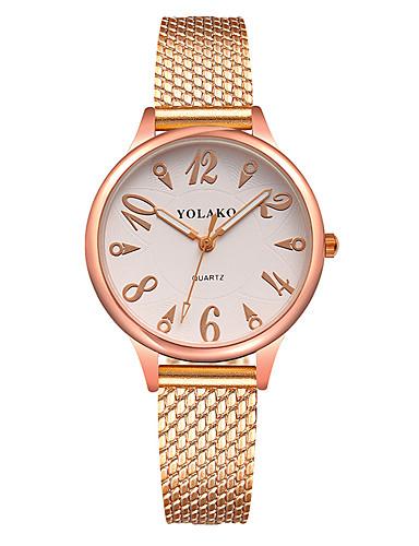 be70402aeb1 Mulheres Relógio de Moda Quartzo Preta   Branco   Azul Relógio Casual  Analógico senhoras Colorido Minimalista - Vermelho Azul Rosa claro de  6638734 2019 por ...