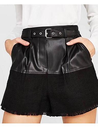 1a63443e36c0 Dame Grunnleggende Store størrelser Shorts Bukser - Trykt mønster ...