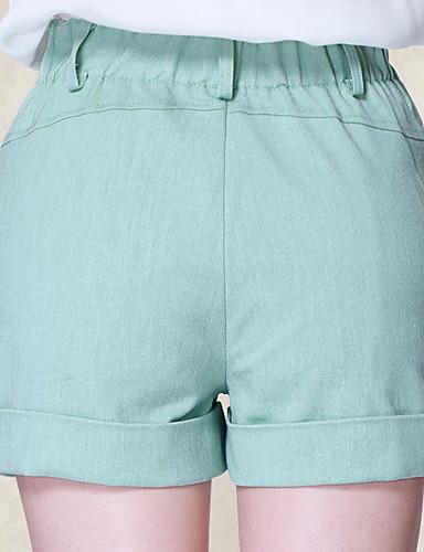 0c562dd64147 Dame Vintage Store størrelser Bomull Shorts Bukser - Flettet ...