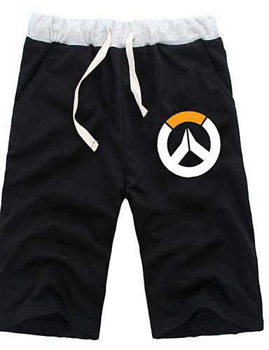 povoljno Maske i kostimi-Inspirirana Overwatch Zmaj Anime Cosplay nošnje Japanski Cosplay Tops / Bottoms Jednobojni / Anime ½ Pant Kratke hlače Za Sve