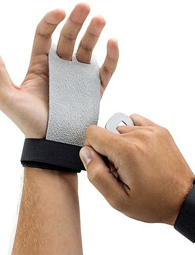 economico Totale Svendita fuori tutto-Abbigliamento protettivo Hand Grip Tutore per mano e polso vera pelle Protezione Leggero Addestramento Antiscivolo Esercizi di fitness Allenamento in palestra Tuta da ginnasta Per Unisex Sportivo
