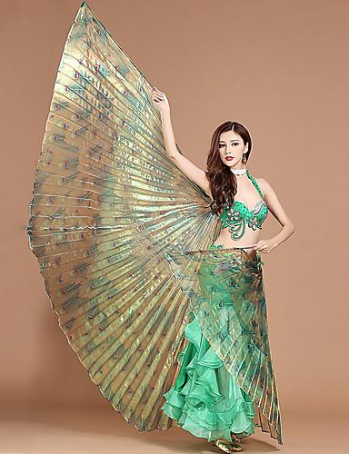 levne Shall We®-Břišní tanec / Taneční příslušenství Křídla Isis Dámské Výkon Polyester Potisk / Vlna