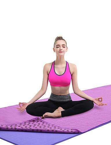 povoljno Vježbanje, fitness i joga-Ručnik za jogu Nježno Univerzális Pro Quick dry Ne skliznuti Mikrovlakana za Yoga Pilates Sposobnost Pink Svjetloplav Siva