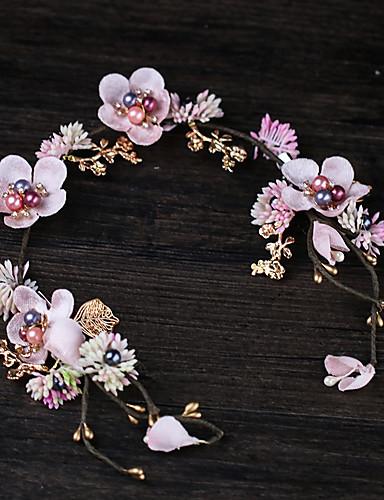 Tyll med Blomst 1 Deler Bryllup / Avslappet Hodeplagg