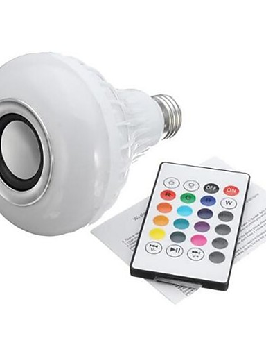 cheap Portable Speakers-E27 Bulb Connector Bluetooth Bulb Connector For