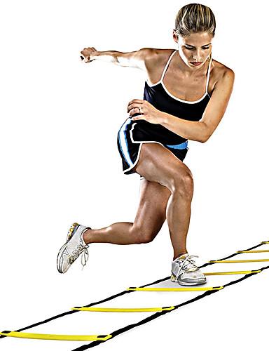 povoljno Vježbanje, fitness i joga-Ljestve za vježbanje brzine i pokretnosti Plastika 12 stepenica Training Aids Košarka Nogomet Trčanje Za