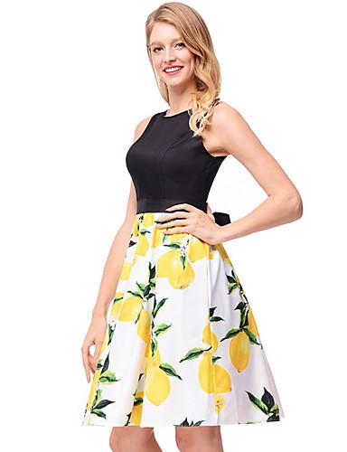 80329ac20448d [$21.99] TS - Dreamy Land Women's Work Skater Dress - Floral
