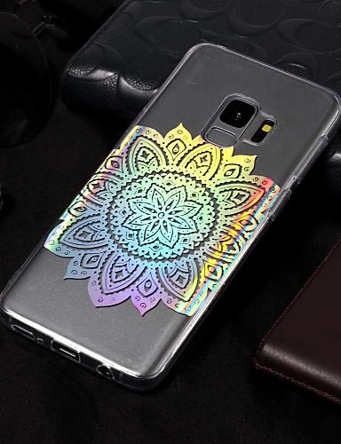 Etui Til Samsung Galaxy S9 / S9 Plus / S8 Plus Belegg / Mønster Bakdeksel Mandala Myk TPU