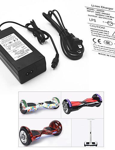 povoljno ljetni popust-Strujni adapter / kabel za balansirajući skuter / Električni punjač baterije 42 V V 2 A A Ulazni 100-240 V V AC Za Hoverboard / S-board 13.8*6.0*3.6 cm plastika