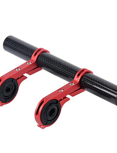 povoljno Ručke i lule volana-Extender za bicikl stabljike Produživač ručke za bicikl Carbon Fiber Mala težina za Cestovni bicikl Mountain Bike Carbon Fiber Plava Crn Red