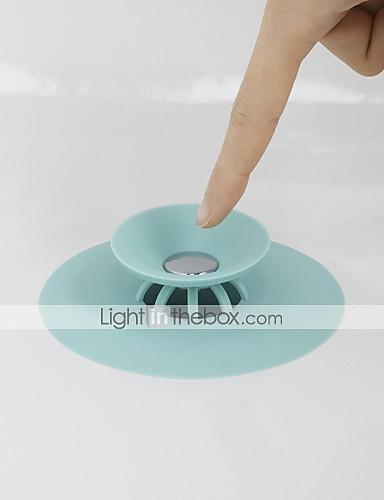 dusjdreneringsstopper gulv drenering gummi sirkel silikonplugg for dusj badekar plugg baderom lekkasjetett drenering
