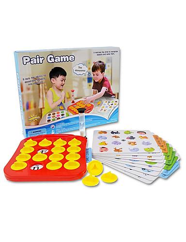 preiswerte Lernkarten-Kartenspiele / Zum Stress-Abbau / Bildungsspielsachen Kunststoff / Hartkartonpapier Unisex Kinder Geschenk 28 pcs