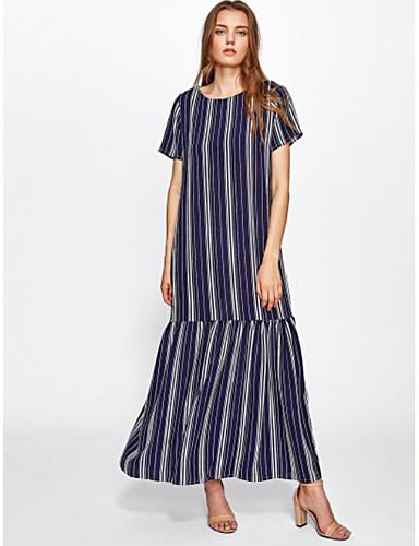 d38ff195 Women's Holiday Shift Dress - Striped Maxi / Summer 6677441 2019 – $19.99
