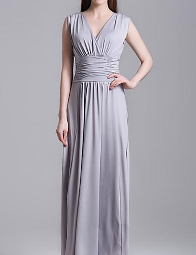 7e381b908af6 Γυναικεία Δουλειά Βασικό Βαμβάκι Λεπτό T Shirt Φόρεμα - Μονόχρωμο ...