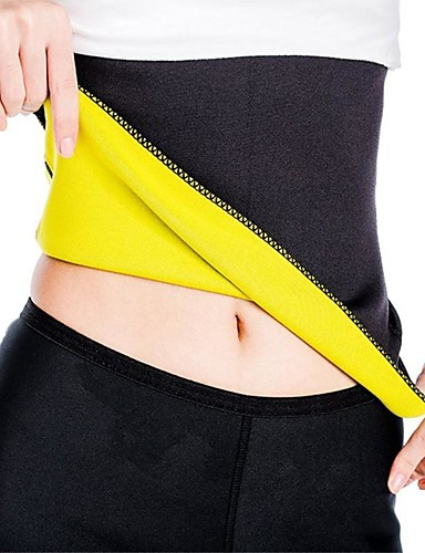povoljno Vježbanje, fitness i joga-Shaper tijela Trimmer za trbušni trening Sauna pojas Neopren Rastezljiva No Zipper Slimming Gubitak težine Tummy Fat Burner Yoga Sposobnost Trening u teretani Za Struk Trbuh