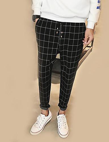 b30c1ee0596f60 Men's Street chic Harem Pants - Check Black 6733478 2019 – $33.99