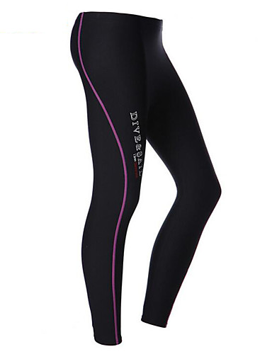 cheap Wetsuits, Diving Suits & Rash Guard Shirts-Dive&Sail Women's Wetsuit Pants 1.5mm Elastane Neoprene Bottoms Waterproof Thermal / Warm UV Sun Protection Swimming Diving Surfing Solid Colored / Breathable / Quick Dry / Breathable / Quick Dry