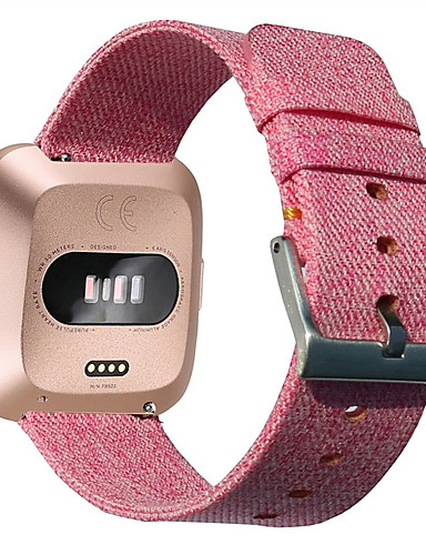 Klokkerem til Fitbit Versa Fitbit Klassisk spenne Stoff / Nylon Håndleddsrem