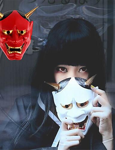 povoljno Maske i kostimi-Maske za Noć vještica Rekviziti za Noć vještica Halloween oprema Skeleton / Lubanja Ghost PVC (Polyvinylchlorid) Stres i anksioznost reljef Čudne igračke Udoban Klasični Tema Odmor Lubanja Duh Strava