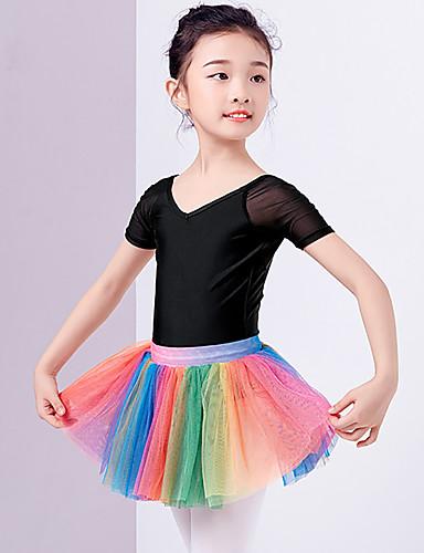 levne Shall We®-Balet tutu a sukně Dívčí Trénink / Výkon Polyester Sklady Vysoký Sukně