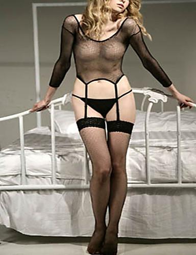 8c28bb6698c Women s Sexy Gartered Lingerie   Garters   Suspenders Nightwear - Mesh  Solid Colored 6809430 2019 –  12.99