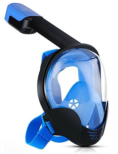 preiswerte Angebote der Woche-Tauchmasken Vollgesichtsmaske Einzelfenster - Schwimmen PC - Für Erwachsene Schwarz / 180 Grad / Anti-Beschlag / Ventilschnorchel