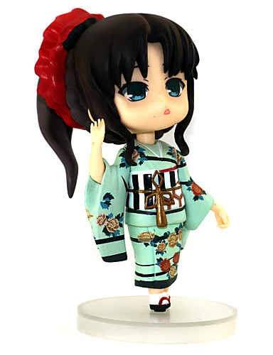 povoljno Maske i kostimi-Anime Akcijske figure Inspirirana Sudbina / boravak noć Rin Tohsaka PVC 12 cm CM Model Igračke Doll igračkama