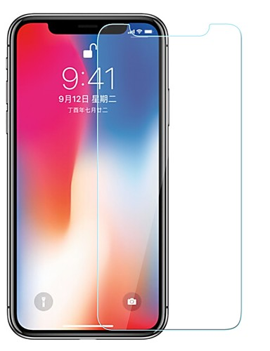 AppleScreen ProtectoriPhone X 9H tvrdoća Prednja zaštitna folija 1 kom. Kaljeno staklo
