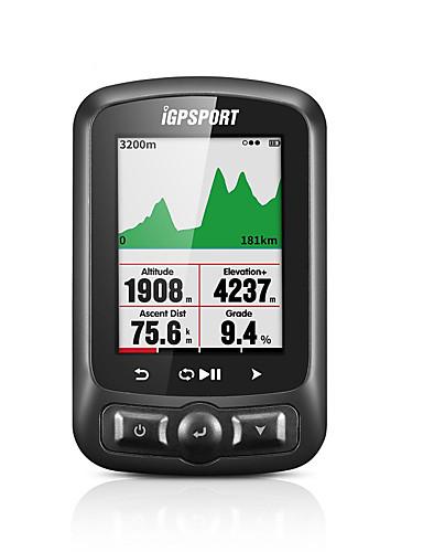 hesapli yaz indirimi-iGPSPORT® IGS618 Bisiklet Bilgisayarı Su Geçirmez Kronometre GPS Dağ Bisikleti Yol Bisikletçiliği Bisiklet