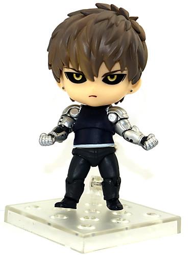 povoljno Maske i kostimi-Anime Akcijske figure Inspirirana Jedan Punch Man Saitama PVC 10 cm CM Model Igračke Doll igračkama