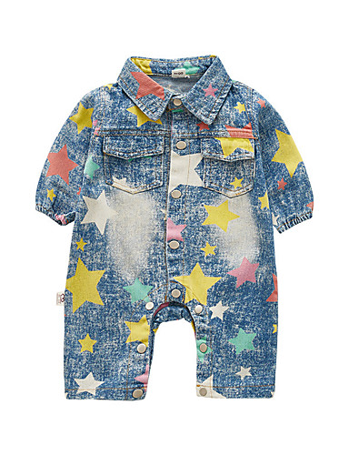 8be6d55fe52a Baby Boys  Vintage Solid Colored Long Sleeve Cotton   Acrylic Romper ...