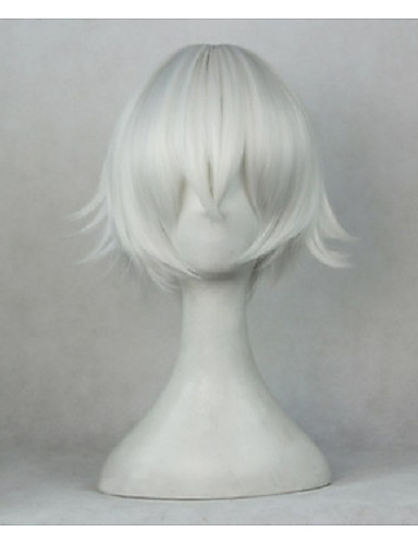 povoljno Maske i kostimi-K Yashiro Isana Cosplay Wigs Uniseks 14 inch Otporna na toplinu vlakna Pink Anime