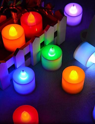 preiswerte Hochzeiten & Feste-Kerzen Kunststoff Hochzeits-Dekorationen Weihnachten / Festival Romantik / Hochzeit Ganzjährig