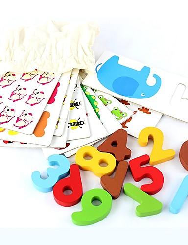 preiswerte Lernkarten-Lernkarten hölzern Hölzern / Hartkartonpapier Alles Kinder Geschenk 1 pcs