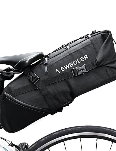 hesapli yaz indirimi-10 L Bisiklet Sele Çantaları Yansıtıcı Ayarlanabilir Büyük Kapasite Bisiklet Çantası Polyester 900D Bisikletçi Çantası Bisiklet Çantası Yol Bisikleti Dağ Bisikleti / Su Geçirmez