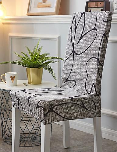 preiswerte Bettbezüge im Angebot-Stuhlabdeckung Mehrfarbig Reaktivdruck Polyester Überzüge