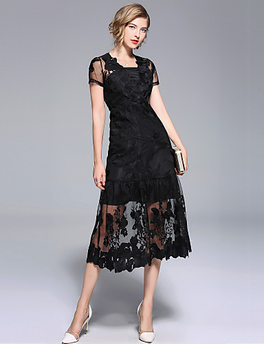 Womens Holiday Going Out Sophisticated Elegant Little Black