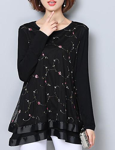 blusa de mujer - cuello redondo geométrico 6852176 2019 –  17.84 18303521e22